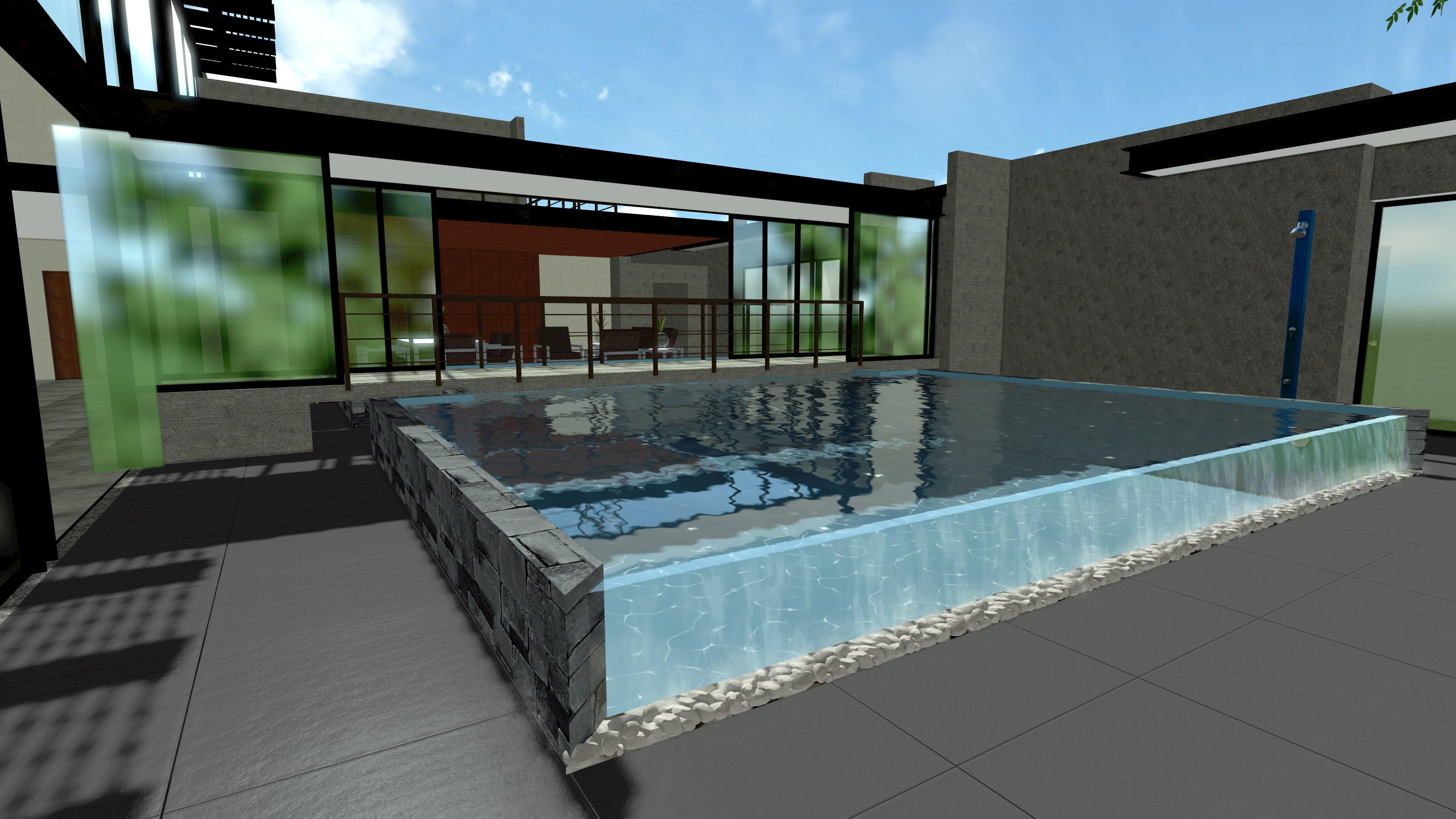 Immagini nbl pool designer - Piscina in vetro ...